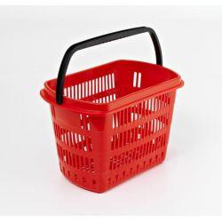 Cestas de plástico 30L para supermercado