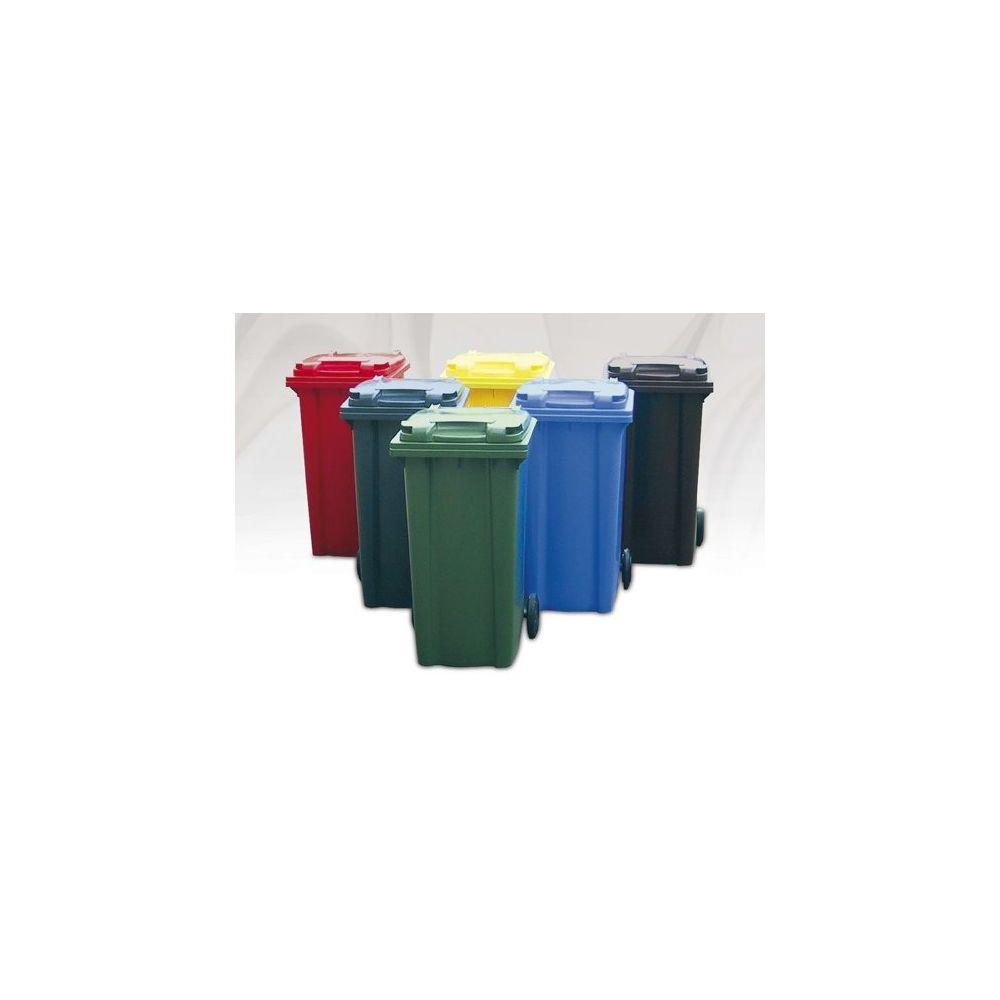 Cubo o contenedor de basura de plástico mediano