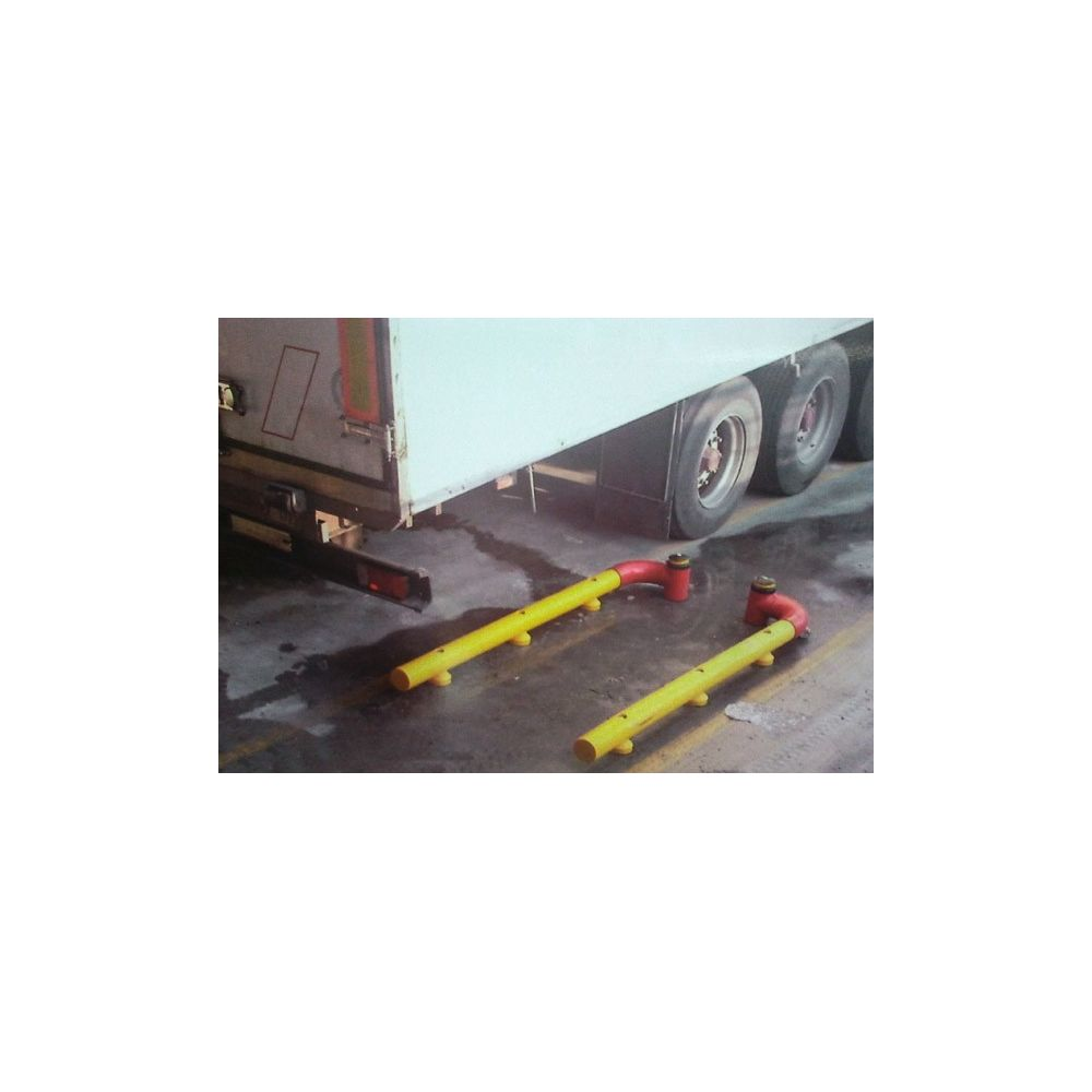 Alineadores y guias para muelles de carga
