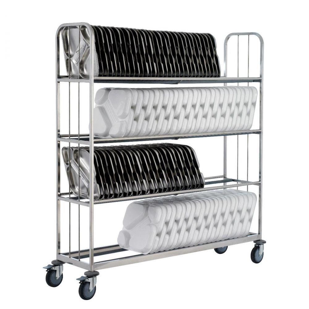 Carros transporte para bandejas Gastronorm / Euronorm