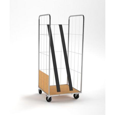 Carro Roll Container con Tensores verticales