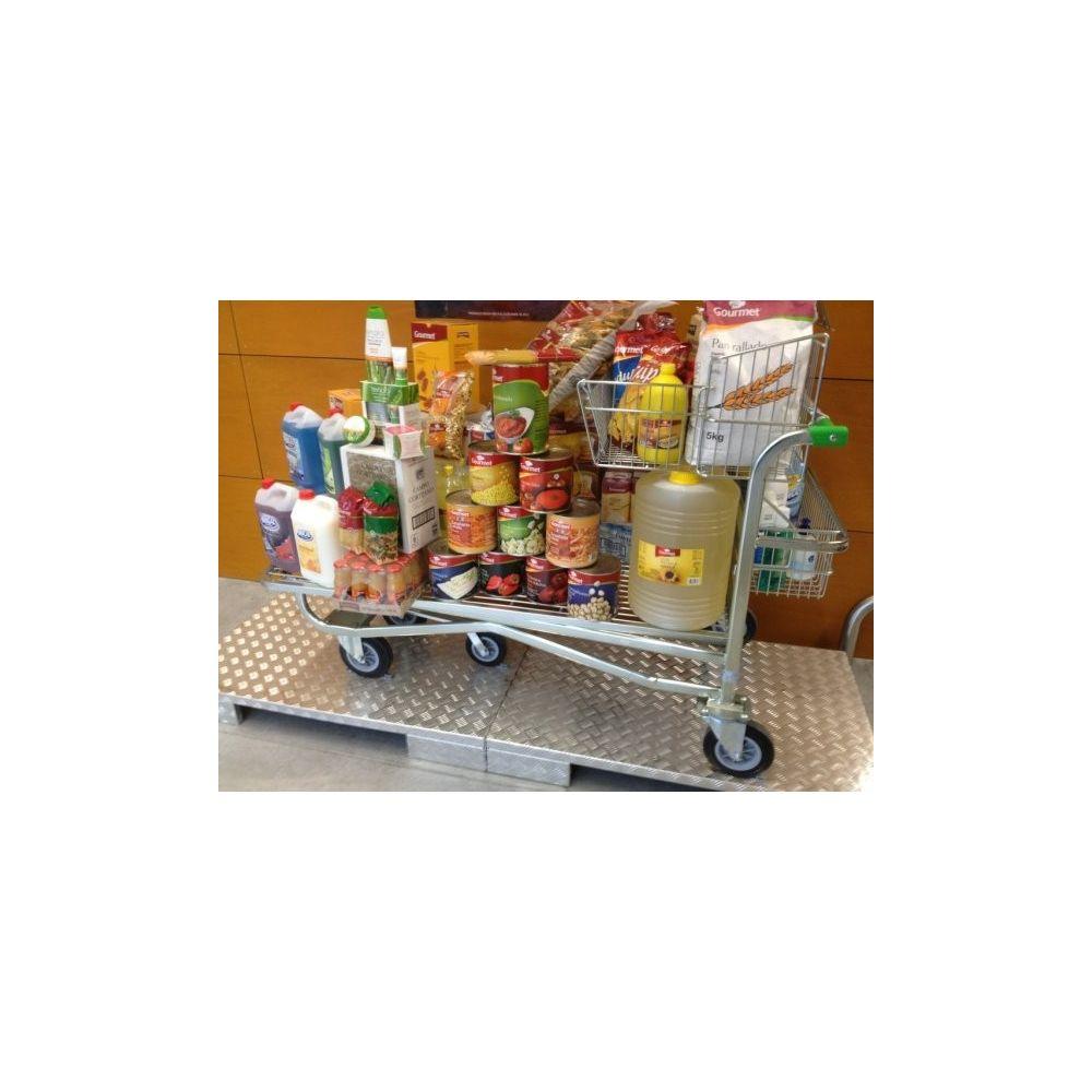 Carro preparacion de carga para cash and carry y mayoristas