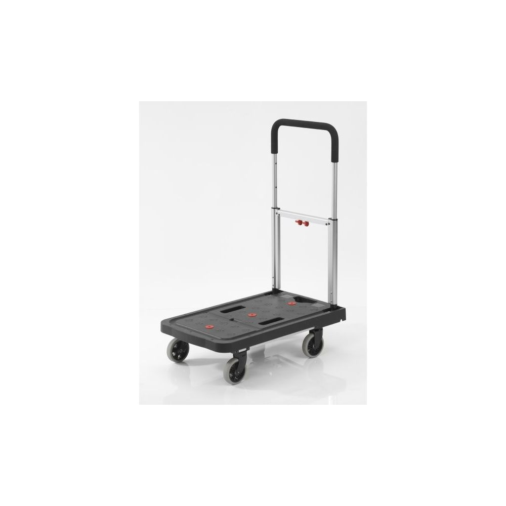 Carro plataforma superplegable para cargas de 120 kgs