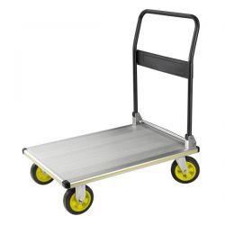 Carro plataforma plegable extremadamente resistente para cargas de 300 kgs.
