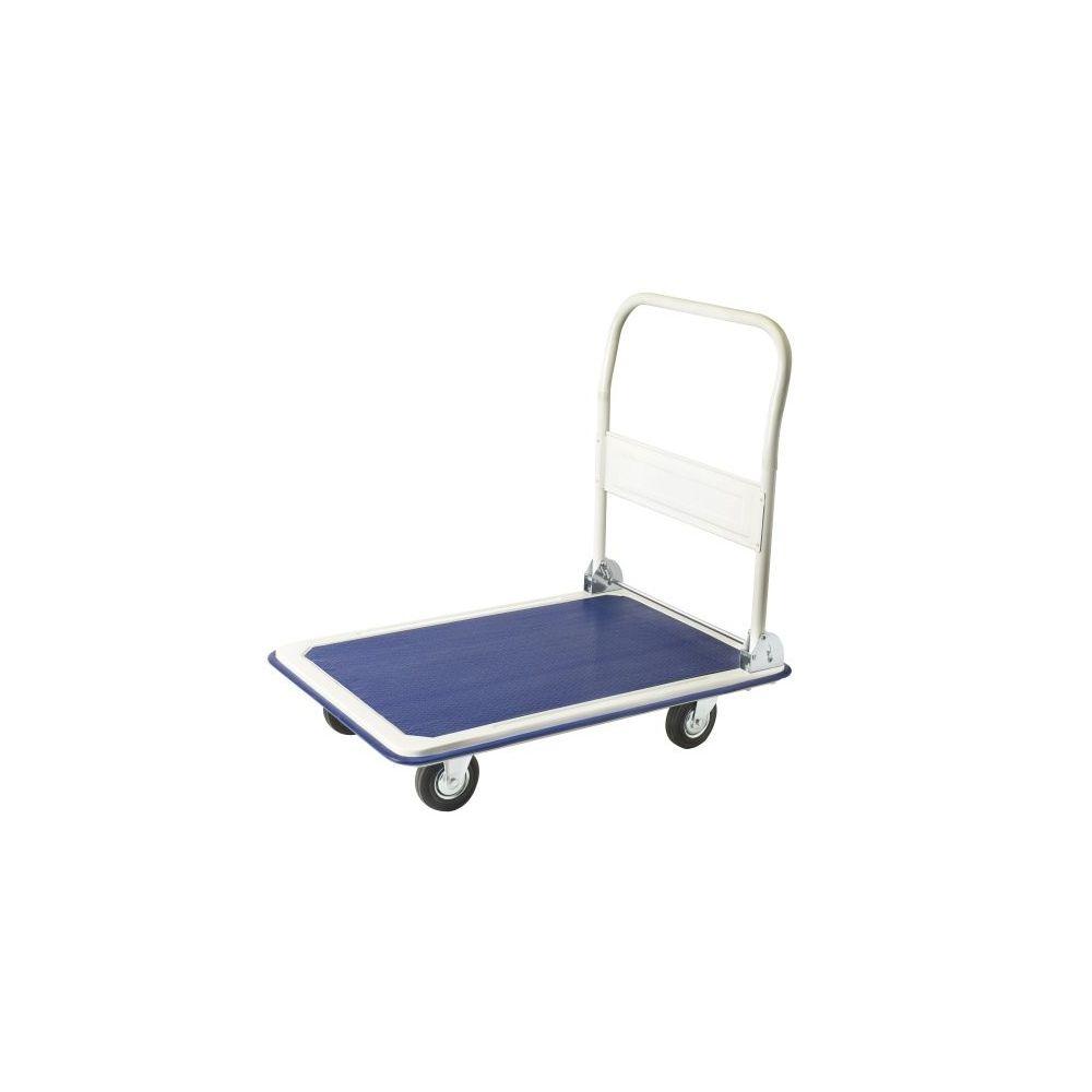Carro con plataforma con capacidad de carga de 300 kgs.