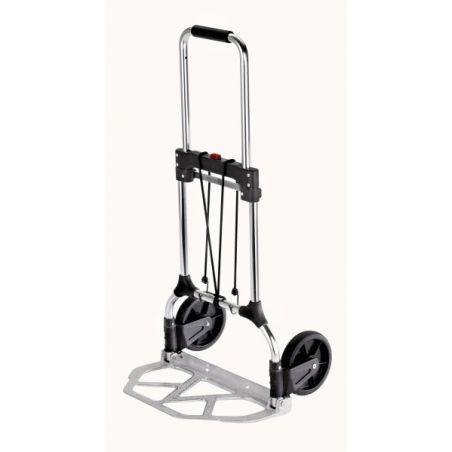 Carretilla superpegable ii en aluminio para carga de 90 kgs.