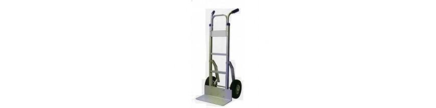 Carretillas eléctricas,manuales y carretillas elevadoras o toros.