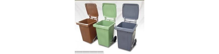 Cubos y contenedores para residuos